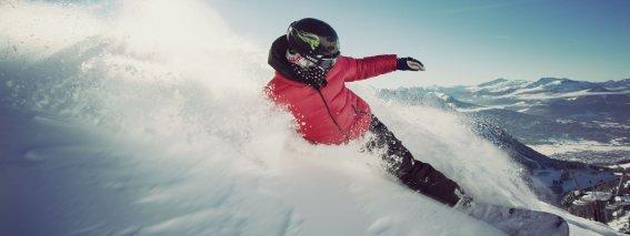 Snowboarden am Felhorn