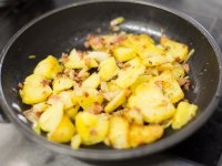 Leckere Bratkartoffel, ein Klassiker