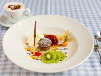 Verführerischer Nachtisch im Restaurant Viktoria in Oberstdorf