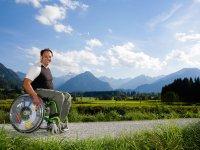 Rollstuhltraum im Allgäu