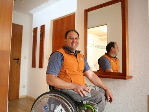 Rollstuhlgerechte Zimmer