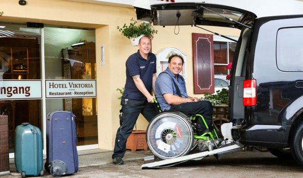 Rollstuhl Hotel Oberstdorf