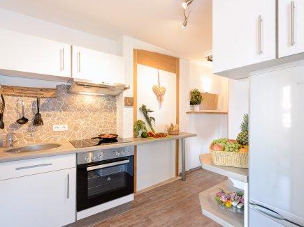 Voll ausgestattet Küche