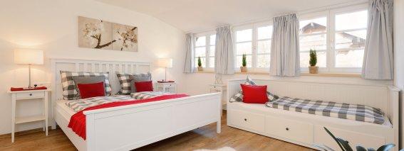 Ferienwohnung Löwenzahn Schlafzimmer 1