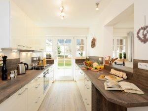 Ferienwohnung Alpenrose Küche