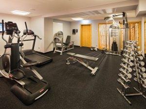 Unser Gym und Fittnesraum