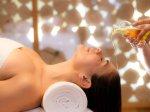 Wellness Öl Therapie