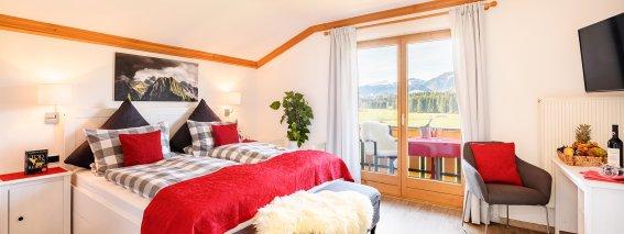 Zimmer 301 mit südwest- Balkon