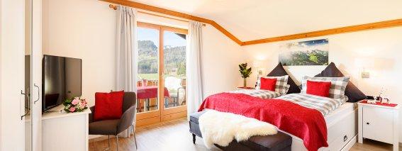Zimmer 302 mit südwest- Balkon