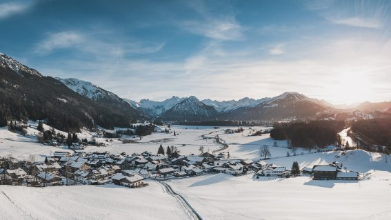 Luftbild Rubi im Winter