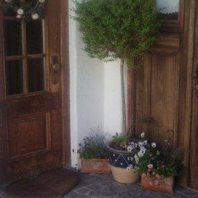 Eingangsbereich Ferien-Chalet