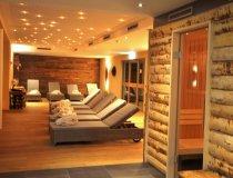 Alpin-Wellness-Lounge mit drei Saunen