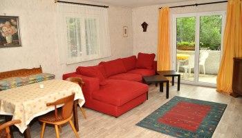 Wohnzimmer mit Couchecke