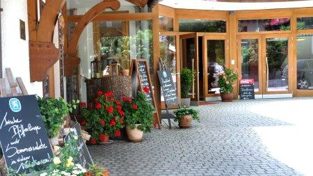 Eingang Restaurant, Wintergarten, Hotel
