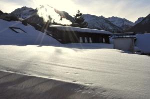 Winteraussicht von Himmelschrofen-Suite