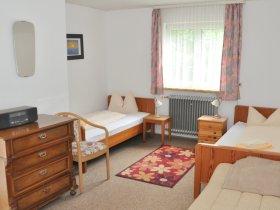Schlaftzimmer mit 2 Einzelbetten