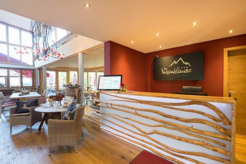 Weinklause Hotel Restaurant Gartenterrasse
