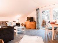 Ferienwohnung Tiefenbach Wohnzimmer