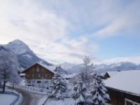 Ihr winterlicher Ausblick vom Balkon