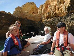 Bootsausflug mit behinderten Menschen