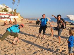 Strand mit Behinderung