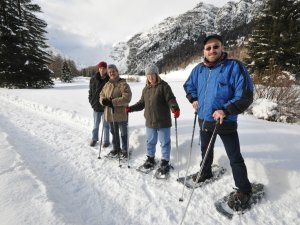 Winterurlaub für Behinderte