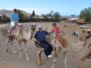 Kamelreiten mit Behinderten