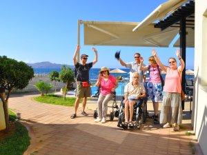 Kreta für Behinderte