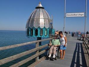 Ostseeurlaub im Rollstuhl