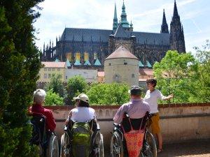Rollstuhlreise Prag