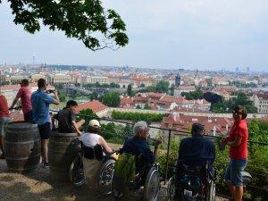 Städtetouren für Rollifahrer