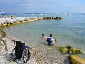 Italien mit Rollstuhl