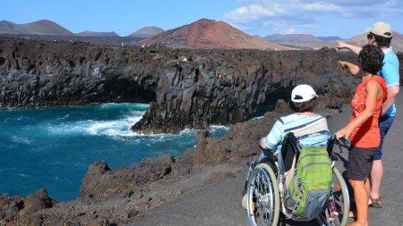 Reise für Behinderte