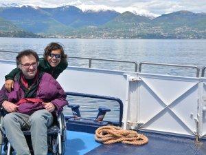 Bootsfahrt für Behinderte