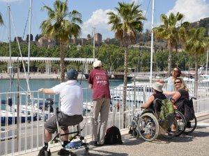 Behindertenreise Spanien