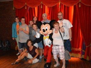 Behindertenreise Disneyland