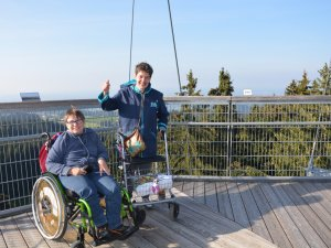 Rollstuhlurlaub