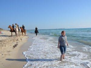 Behinderte Strand