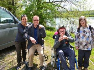 Rollstuhlreise Frankreich