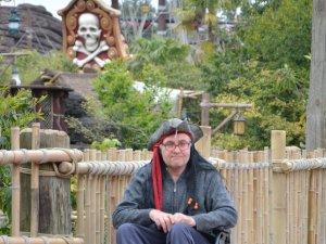 Disneyland Rollifahrer