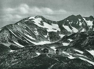 Nebelhornhaus mit Nebelhorn