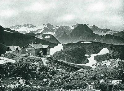 Nebelhornhaus von Norden