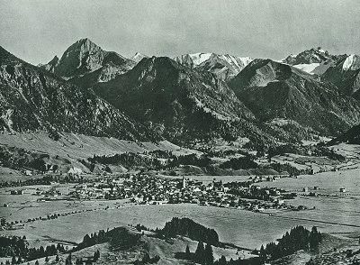 Oberstdorf vom Kapf