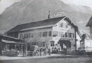 Conditorei und Café Stempfle 1880