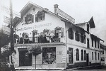 Café Stempfle in der Hauptstrasse 1909