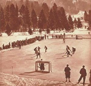 Eishockey am Moorweiher