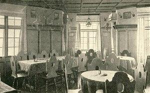 Schönblick 1912 Gastraum