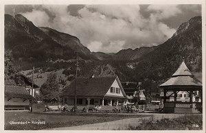 Kurplatz mit Lesehalle und Pavillon 1932