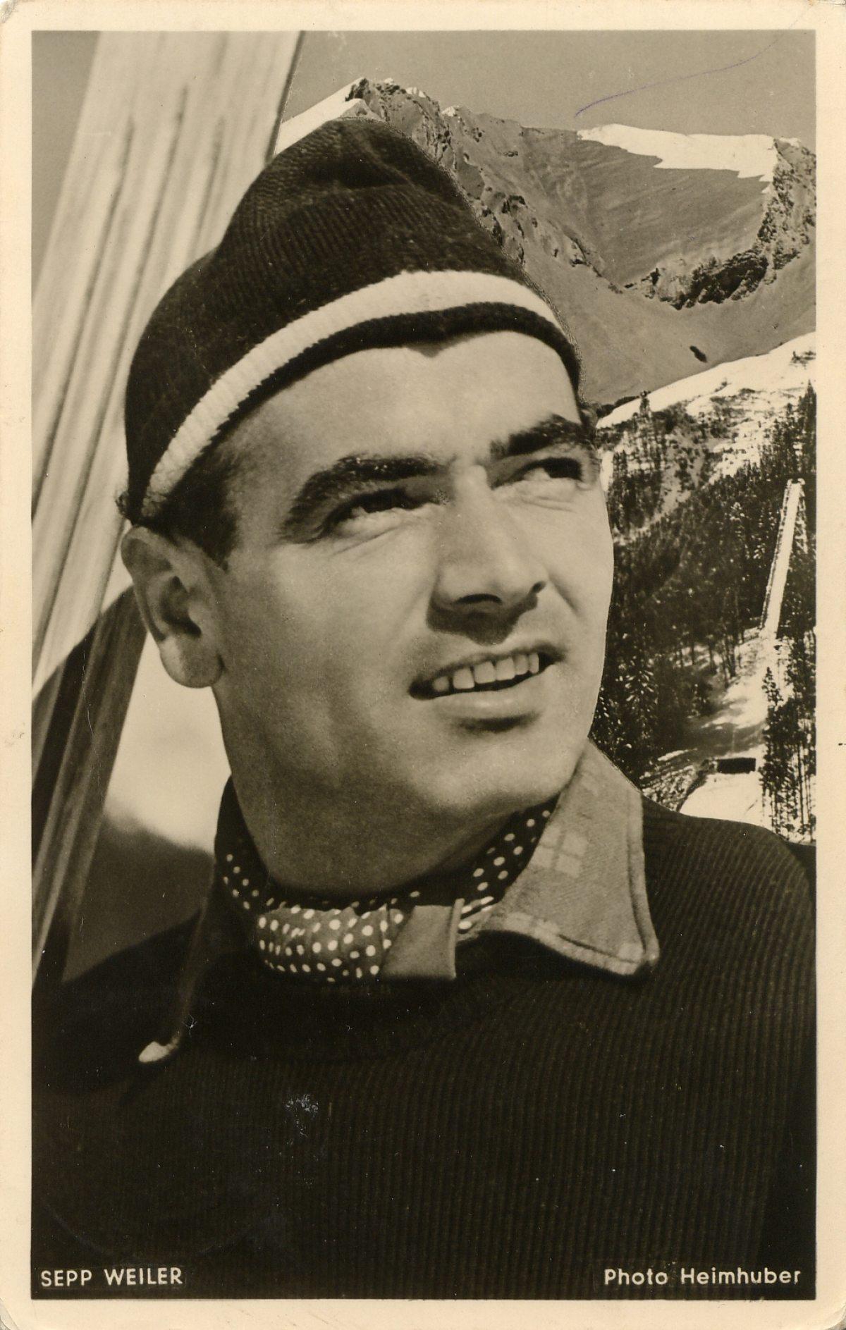 Skispringer Sepp Weiler
