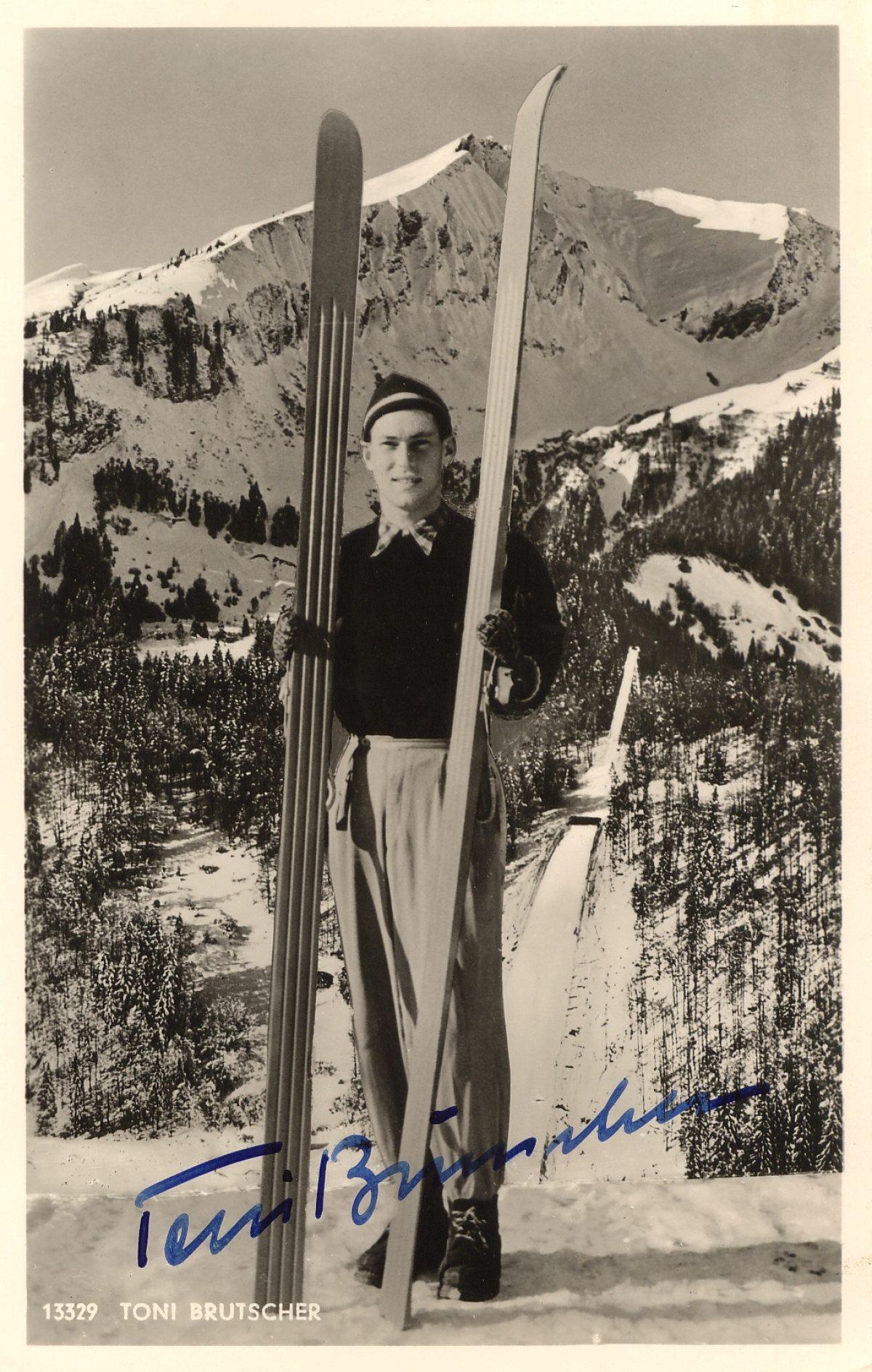 Skispringer Toni Brutscher